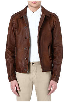 RALPH LAUREN M41 leather jacket