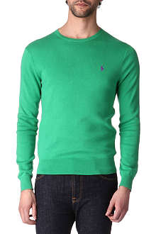 RALPH LAUREN Slim-fit Pima cotton jumper