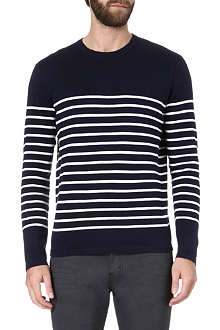 RALPH LAUREN Striped cotton jumper