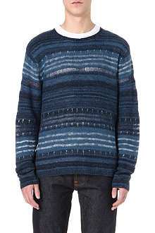 RALPH LAUREN Contrast striped jumper