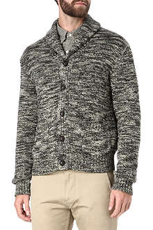 RALPH LAUREN Shawl collar knitted cardigan