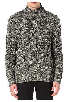 RALPH LAUREN Cable-knit roll-neck jumper