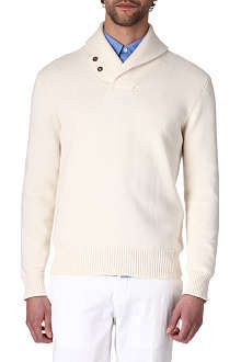 RALPH LAUREN Shawl-collar jumper