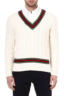 RALPH LAUREN Cricket cable knit jumper