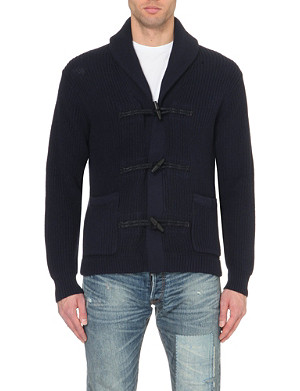 RALPH LAUREN Toggle knitted cardigan