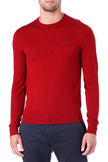 RALPH LAUREN Slim-fit crew-neck jumper