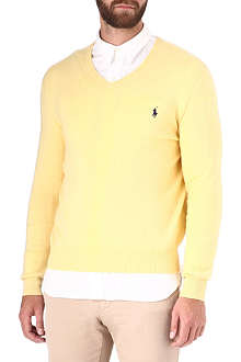 RALPH LAUREN V-neck jumper