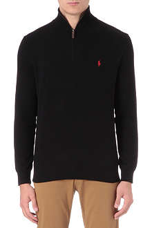 RALPH LAUREN Zip-neck jumper