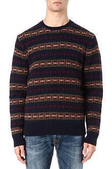 RALPH LAUREN Fair Isle knitted jumper