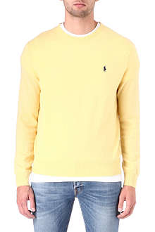 RALPH LAUREN Classic-fit crew-neck jumper
