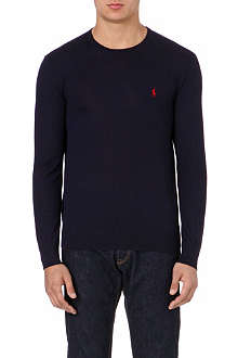 RALPH LAUREN Slim-fit wool jumper