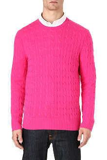 RALPH LAUREN Cable-knit jumper