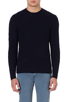 RALPH LAUREN Fitted cashmere jumper
