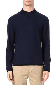 RALPH LAUREN Knitted polo shirt