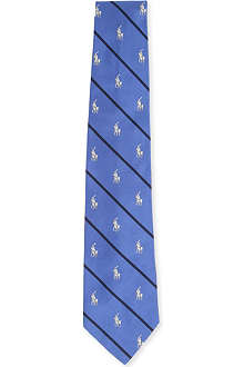 RALPH LAUREN Logo dress tie
