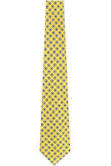 RALPH LAUREN Silk print tie