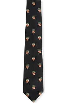 RALPH LAUREN Wool and silk blend tie