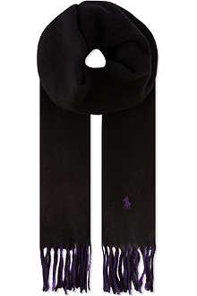 RALPH LAUREN Classic reversible scarf