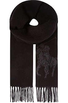 RALPH LAUREN Jacquard scarf