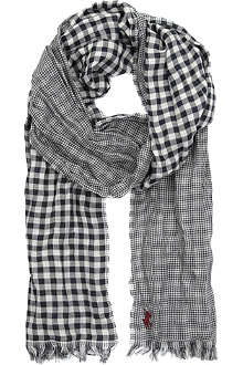 RALPH LAUREN Checked scarf