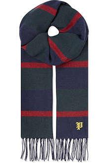 RALPH LAUREN Rugby stripe scarf