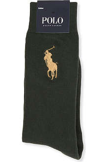 RALPH LAUREN Big Pony cotton socks