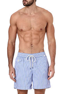 RALPH LAUREN Traveler striped swim shorts