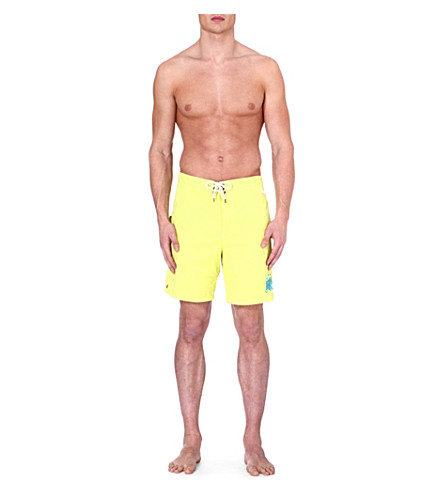 RALPH LAUREN Sanibel swim shorts (New lemon/optic