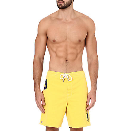 RALPH LAUREN Sanibel swim shorts (Trainer yellow/