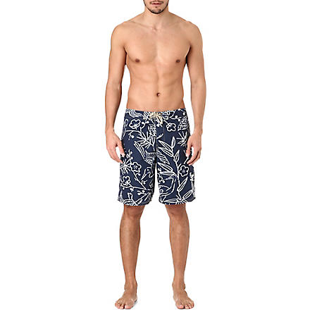 RALPH LAUREN Shelter Island long swim trunks (Cr-70 good luck