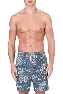 RALPH LAUREN Captiva Koi-print swim shorts