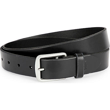 RALPH LAUREN Harness saddle belt (Black