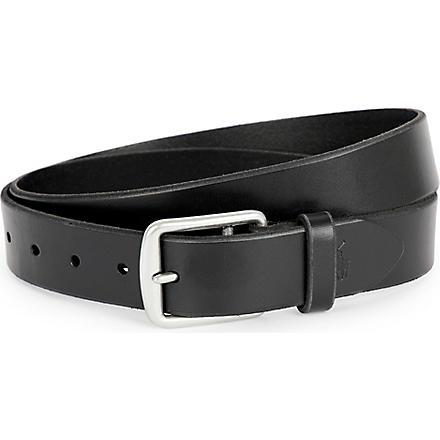 RALPH LAUREN Harness saddle belt (Black