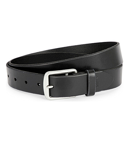 POLO RALPH LAUREN Harness saddle belt (Black