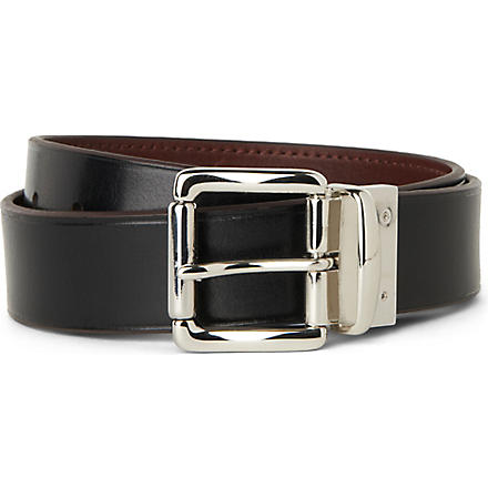 RALPH LAUREN Reversible leather belt (Brown/black