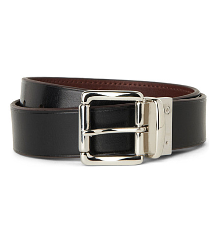 POLO RALPH LAUREN Reversible leather belt (Brown/black