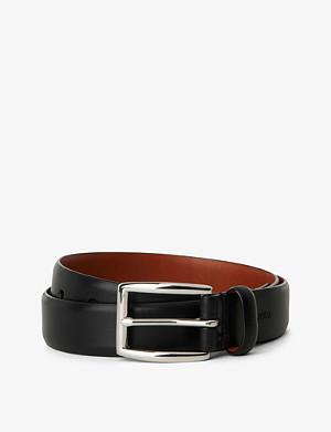 RALPH LAUREN Embossed-logo belt