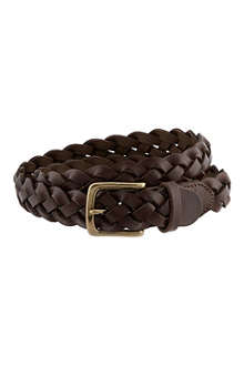 RALPH LAUREN Braided belt