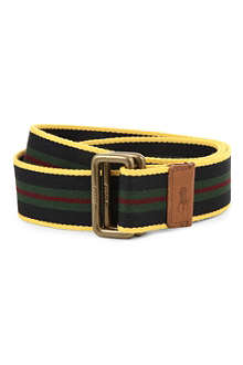 RALPH LAUREN Classic web striped belt