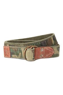 RALPH LAUREN Camo military belt