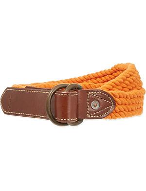 RALPH LAUREN Rope belt