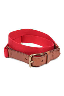 RALPH LAUREN Icon canvas belt