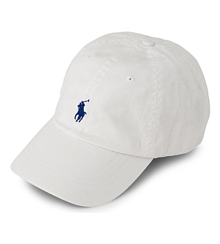 RALPH LAUREN Signature pony baseball cap (A1000: white