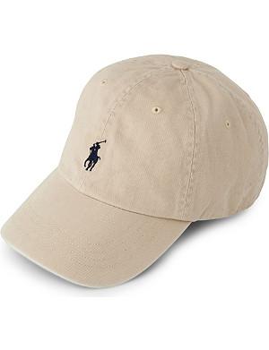 RALPH LAUREN ACCESSORIES Signature pony baseball cap