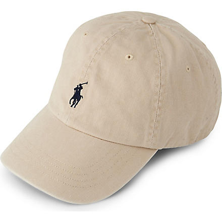 RALPH LAUREN ACCESSORIES Signature pony baseball cap (A2041: nubuck i