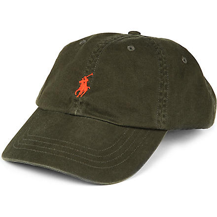 RALPH LAUREN Signature pony baseball cap (D lod/h or pp