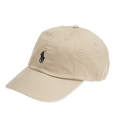 POLO RALPH LAUREN Classic Pony baseball cap (Nubuck/relay+blue