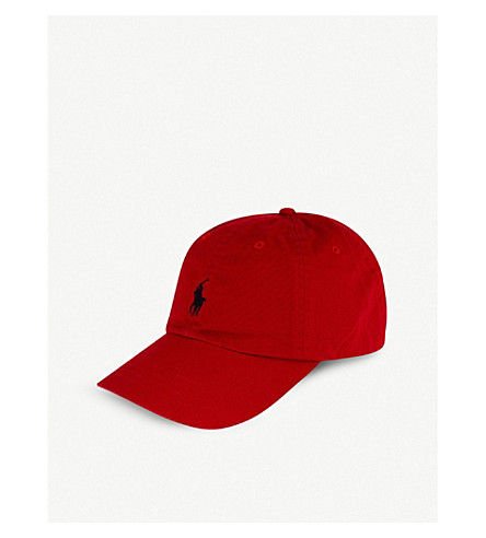 POLO RALPH LAUREN Classic cotton cap (Rl2000+red/blue