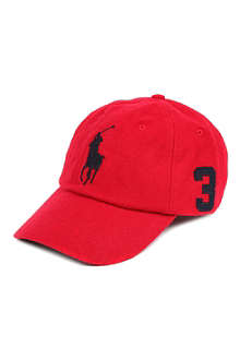 RALPH LAUREN Big Pony wool-blend baseball cap
