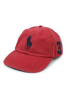 RALPH LAUREN Sun-washed Big Pony baseball cap